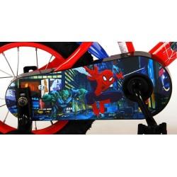 "Spiderman Børnecykel 12"" Med Støttehjul 3-5 År. Fodbremse"