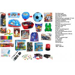 25 Stykker Blandet Legetøj Til Pakkekalenderen