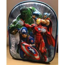 Marvel Avengers Rygsæk 3D Til Børn 32x26x9 cm