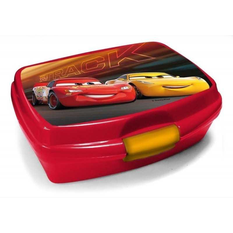 Disney Cars Madkasse Til Drenge Rød 17 x 14 x 6.5 cm