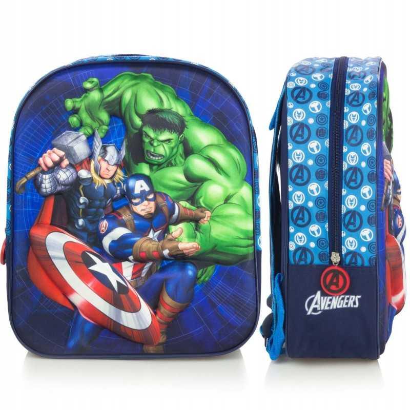Marvel Avengers 3D Rygsæk Til Børn 31 x 10 x 26,5 cm