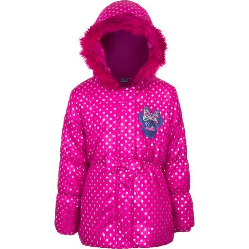 3 år / 98 cm - Pink Minnie Mouse Vinterjakke Til Piger