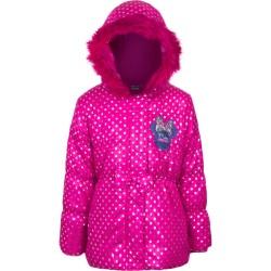 8 år / 128 cm - Pink Minnie Mouse Vinterjakke Til Piger