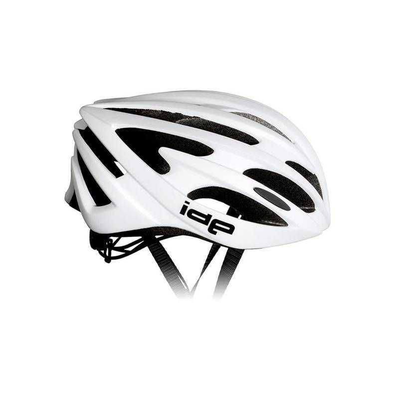IDE Cykelhjelm Hvid Til Mænd og Kvinder : Hjelm Størrelse - S/M - 54-58 cm