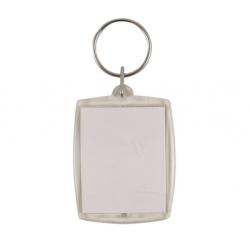 Nøgleringe Med Fotoramme 6x4 cm