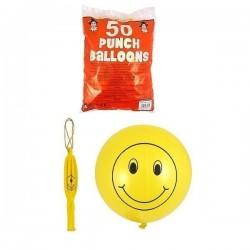 Smiley Bokse Ballon - Perfekt Til Børne Festen! 40 cm