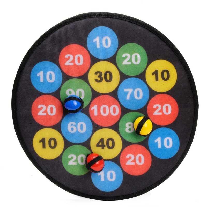 Dart Spil Til Børneværelset Med 3 Stk. Soft Bolde - Ø 36 cm