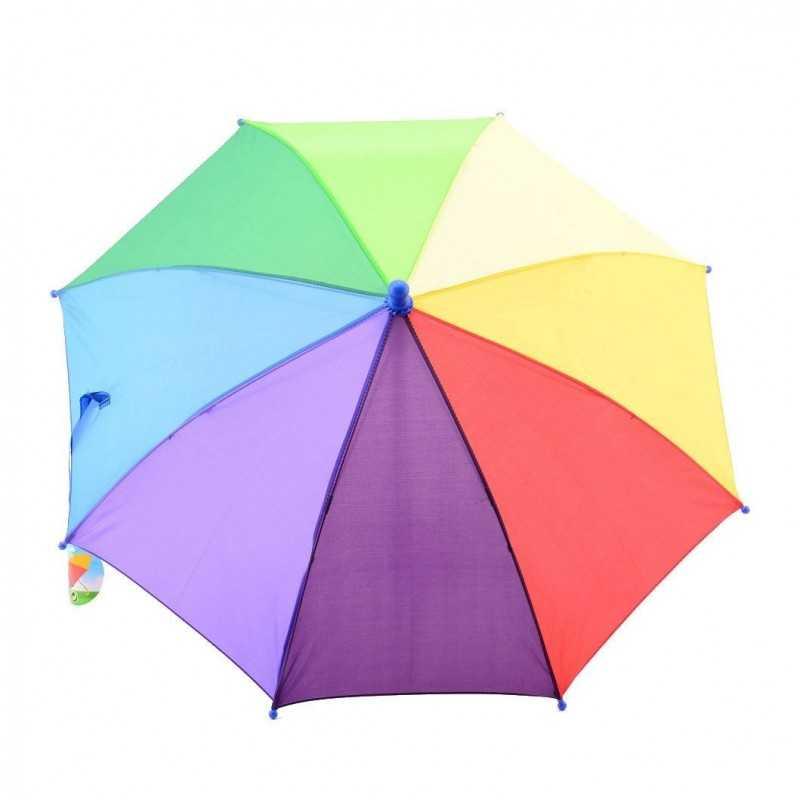 Regnbue Paraply Til Børn Ø 68 cm