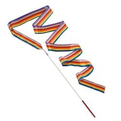 Gymnastik Vimpel Med Regnbue Farver 2 Meter
