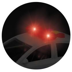 Politi Bil Med Lys og Lyd 16 cm - Legetøj