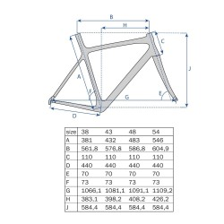 "27.5"" MTB Ramme Aluminium Shape Mat Sort : Stel Størrelse - 21,5"" (54,6 cm)"