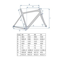 "29"" MTB Ramme Aluminium Shape Mat Sort : Stel Størrelse - 21,5"" (54,6 cm)"