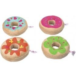 Søde Plys Donuts 4-PACK