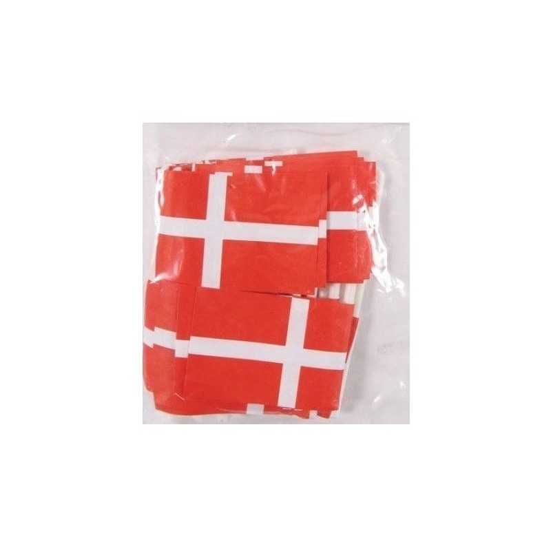 10 Stk. Pindeflag Danmark