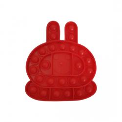 Pop IT Fidget Toys Rød Kanin