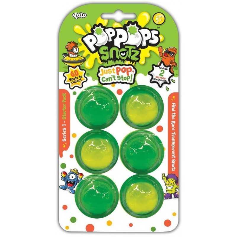 Pop Pops Snotz 6 pack (Grøn)