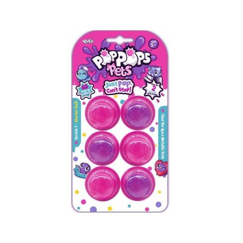 Pop Pops Snotz 6 pack (Pink)