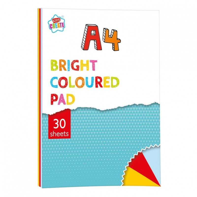30 Ark Farvet Papir 29,7 x 21 cm (A4)