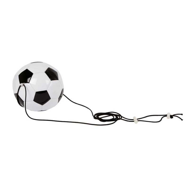 Fodbold Med Elastik, 19cm
