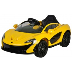 McLaren P1 Elektrisk Bil 12V Med Lys og Lyd