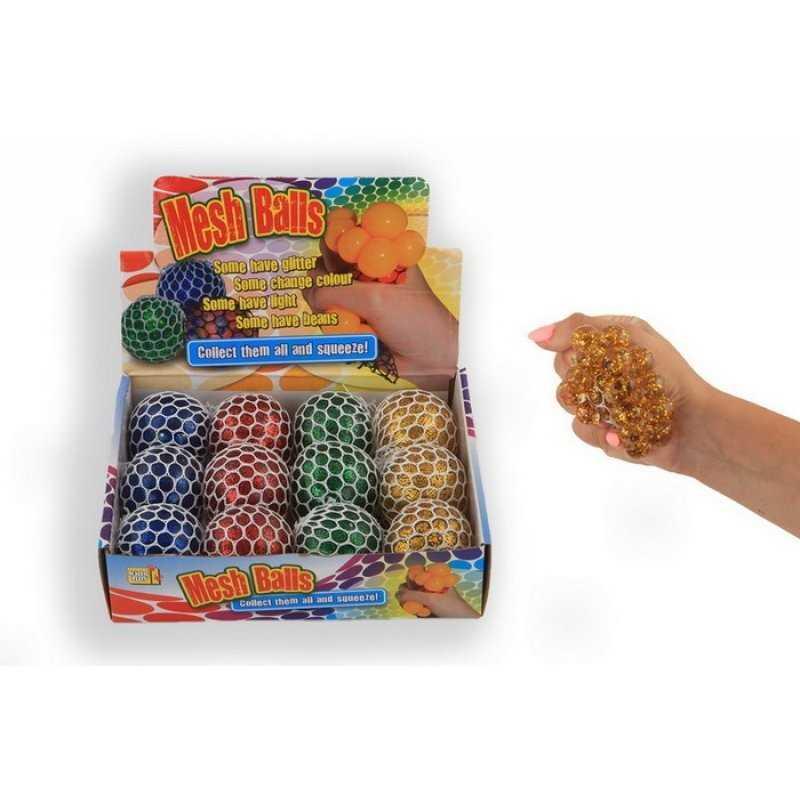 Klemmebold Med Glitter Stykker 6 cm