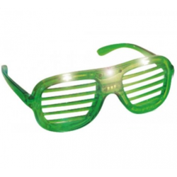 Sjove og Festlige LED Briller Med Lys