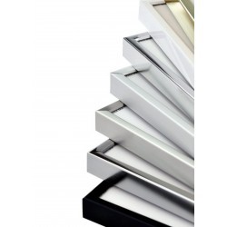 29,7 x 42 cm (A3) Nielsen Fotoramme Accent i Aluminium - Shine Silver