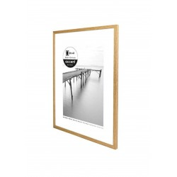 29,7 x 42 cm (A3) Nielsen Fotoramme Scandic i Egetræ
