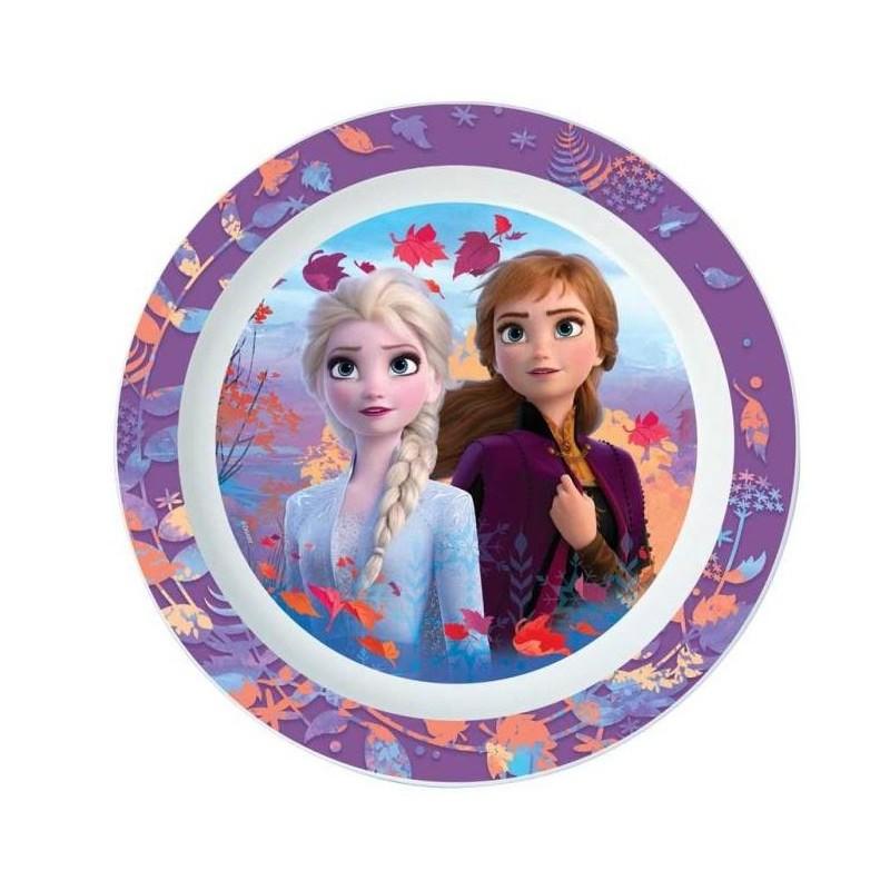 Frozen 2 Tallerken Med Anna & Elsa
