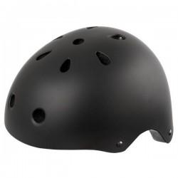 Ventura Cykelhjelm Skater Model Mat Sort Størrelse M Eller L : Hjelm Størrelse - L / 58-61 cm