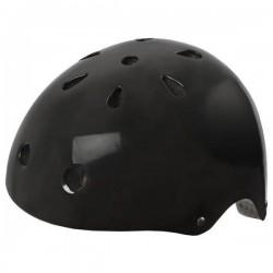 Ventura Cykelhjelm Skater Model Blank Sort : Hjelm Størrelse - M / 54-58 cm