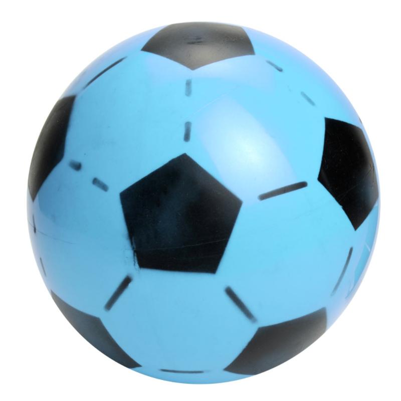 Plastik Fodbold Til Børn Ø 20 cm Blå