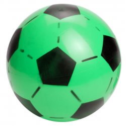 Plastik Fodbold Til Børn Ø 20 cm grøn