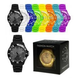 Blå - Fashion Armbåndsur I Flere Farver Til Damer Og Herre