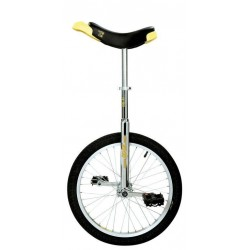 "20"" QU-AX Ethjulet Cykel Luksus Chrome"