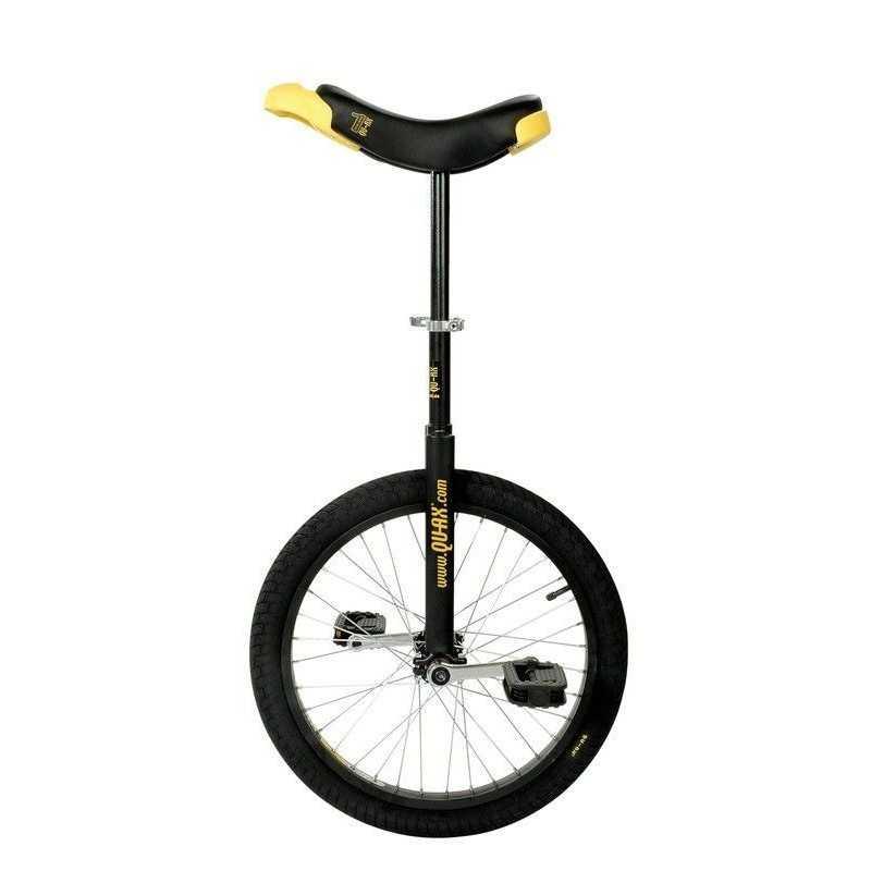 "20"" QU-AX Ethjulet Cykel Luksus Sort"