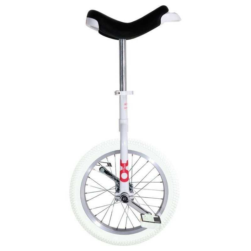 "16"" QU-AX Ethjulet Cykel Hvid"