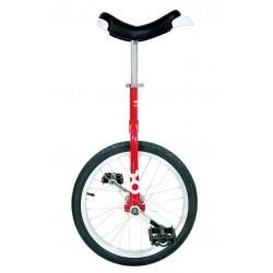 """18"""" QU-AX Ethjulet Cykel Rød"""