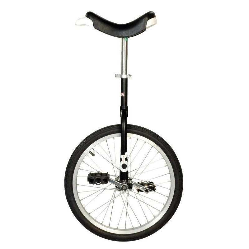 """20"""" QU-AX Ethjulet Cykel Sort - Bestseller!"""