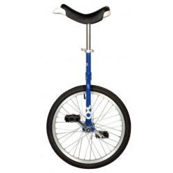 """20"""" QU-AX Ethjulet Cykel Blå"""