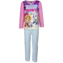 3 år / 98 cm - Lyserød/Hvid Paw Patrol Velour Pyjamas / Nattøj Til Piger
