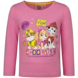 Paw Patrol Langærmet T-shirt Til Piger Fra 3-6 År : Farve - Pink, Alder - 6 år / 116 cm