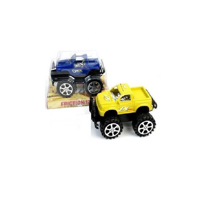 Blå - Stor Friktion Jeep 12 cm