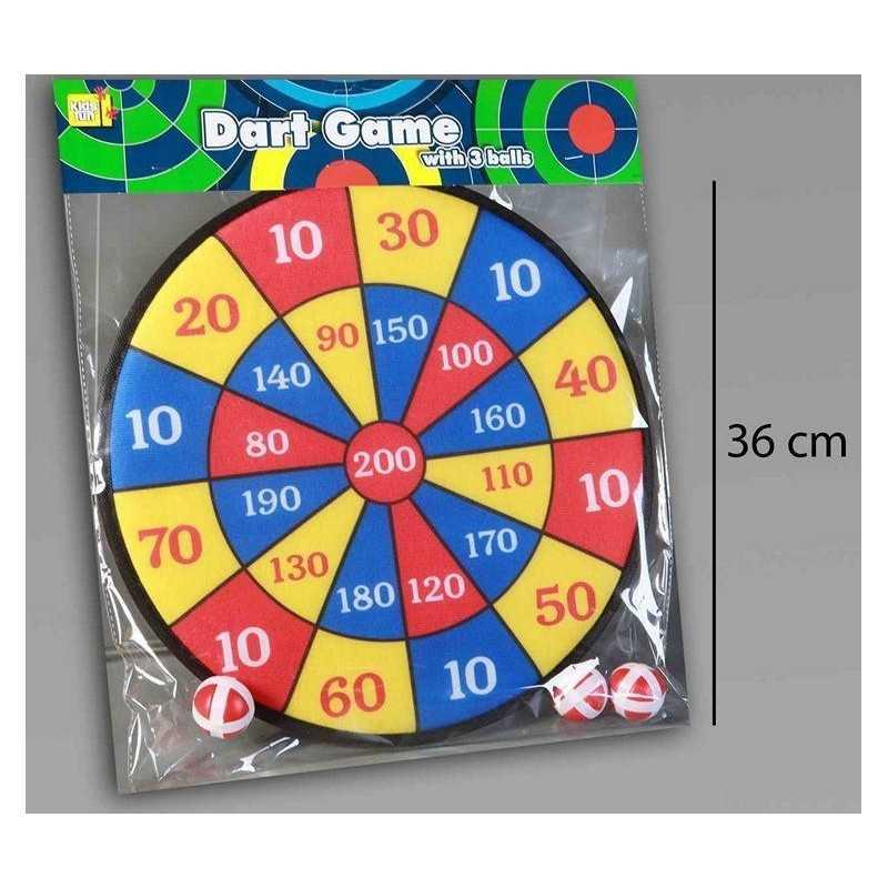 Dart Spil Til Børneværelset Med 3 Stk. Soft Bolde