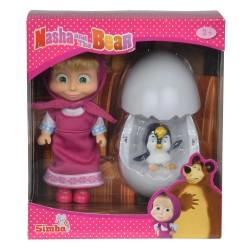 Masha og Bjørnen Dukke og Pingvin