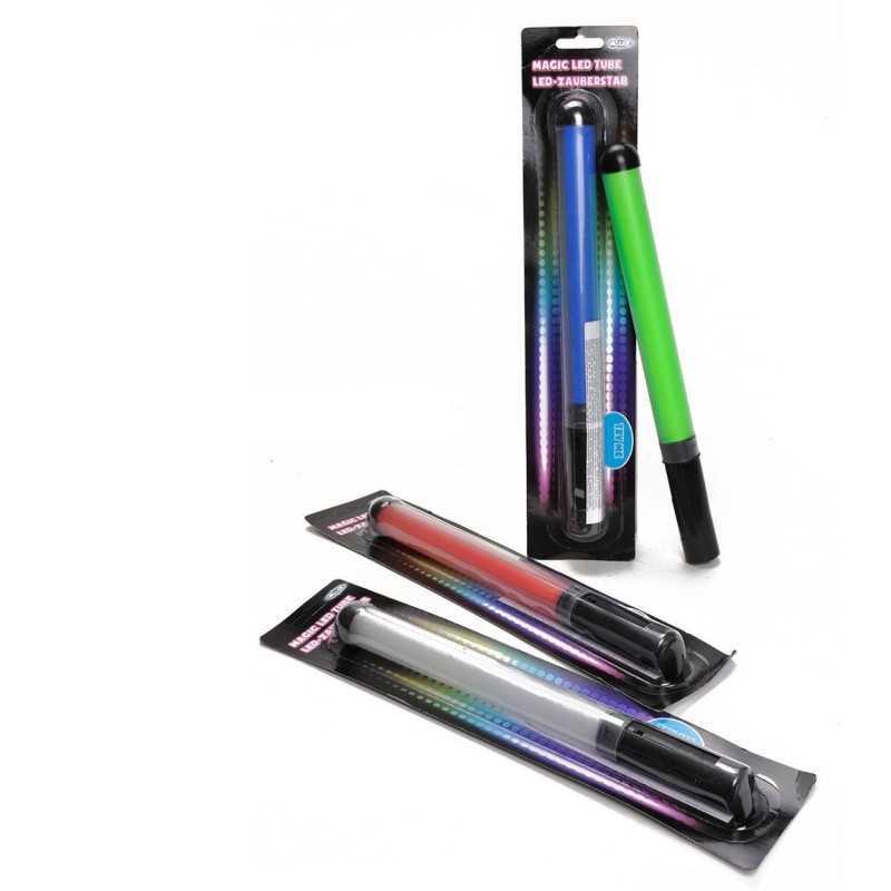 LED Lysstav 31 cm - Magic LED Tube : Farve - Blå