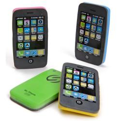 2 Stk. Viskelæder Som Ligner Smartphone 3 x 6 cm