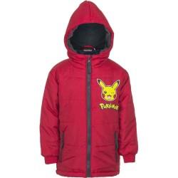 6 år / 116 cm - Rød Pokemon Jakke Til Børn