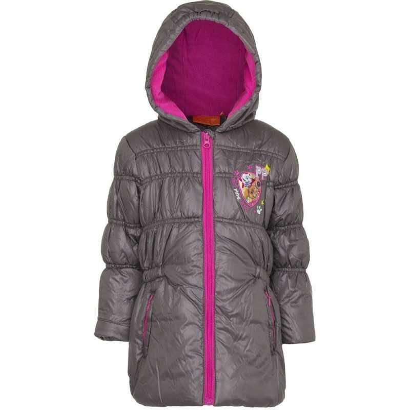 3 år / 98 cm - Grå Paw Patrol og Everest Vinterjakke Til Piger