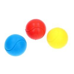 3 Stk. Soft Ball i forskellige Farver Ø 7 cm